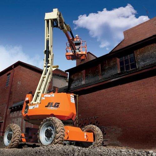 Diesel Knikarmhoogwerker 12 meter