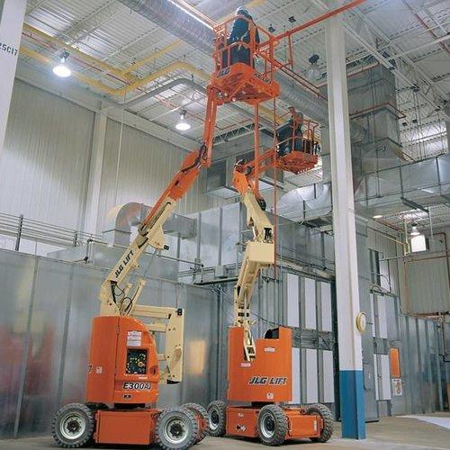 Elektrische Knikarmhoogwerker 11 meter
