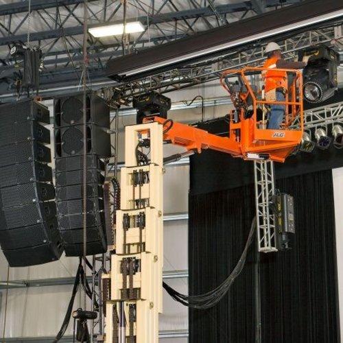 Elektrische Masthoogwerker 12 meter
