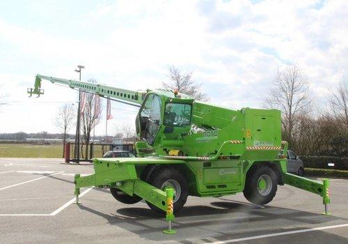 Roterende verreiker 4 ton en 30 meter bereik