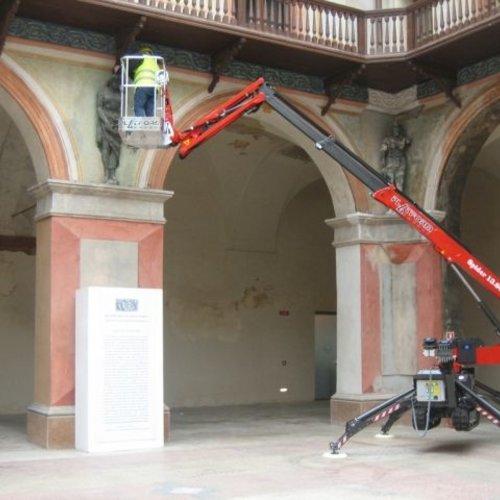 Spinhoogwerker 13 meter