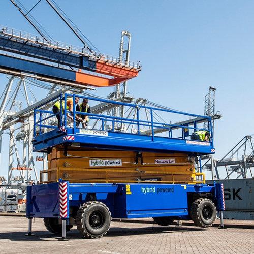 Diesel Schaarlift  21,5 meter huren