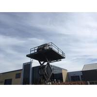 Platform Hoogwerker huren 9.5m werkhoogte