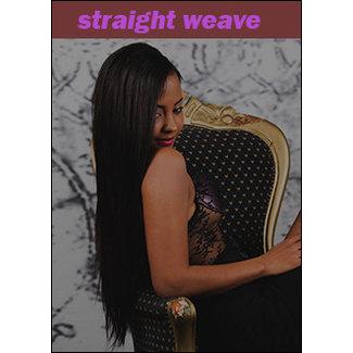 Straight weave