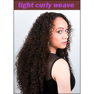 Tight Curly Weave