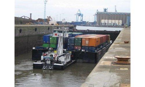 Container duwbakken