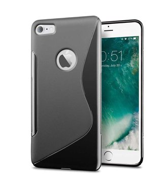 Just in Case Just in Case Apple iPhone 7 / 8 S-Style TPU case (Black)