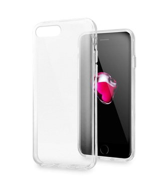 Just in Case Just in Case Apple iPhone 7 Plus / 8 Plus Soft TPU case (Clear)