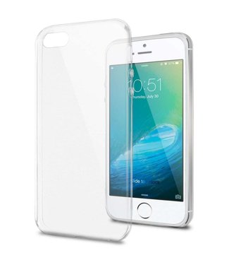 Just in Case Just in Case Apple iPhone 5 / 5s / SE Soft TPU case (Clear)