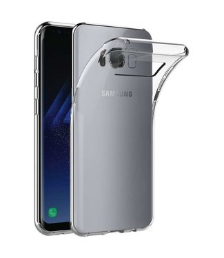 Just in Case Just in Case Samsung Galaxy S8 Plus Soft TPU case (Clear)