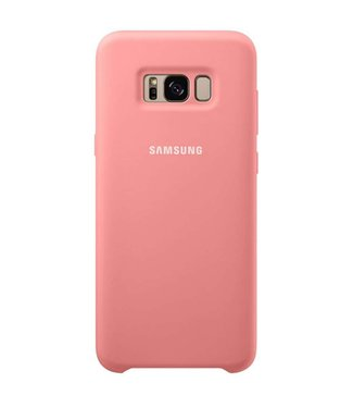 GSM Westland Samsung Galaxy S8 Plus Silicone Cover (Pink) EF-PG955TP