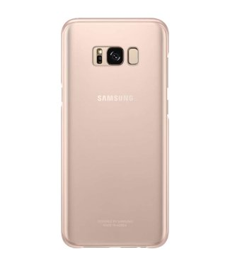 GSM Westland Samsung Galaxy S8 Plus Clear Cover (Pink) - EF-QG955CP