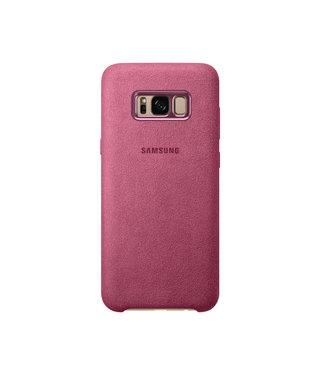 GSM Westland Samsung Galaxy S8 Plus Alcantara Cover (Pink) - EF-XG955AP