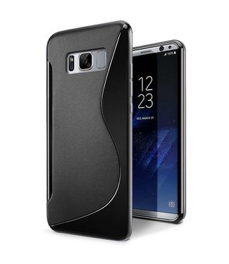 Just in Case Just in Case Samsung Galaxy S8 Plus S-Style TPU case (Black)