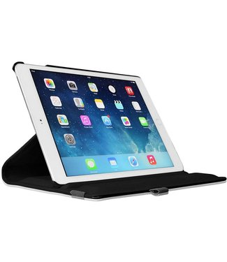 Just in Case Just in Case Apple iPad 9.7 (2017 / 2018) Rotating 360 Case (Black)