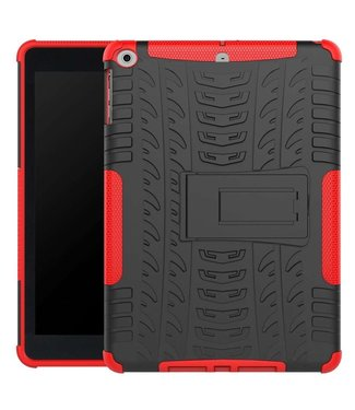 Just in Case Just in Case Rugged Hybrid Apple iPad 9.7 (2017 / 2018) Case (Red)