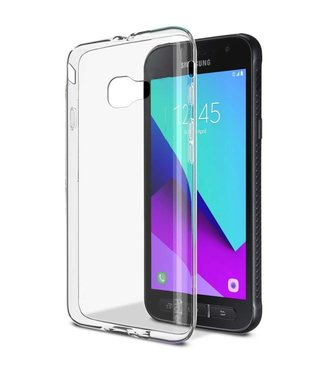 Just in Case Just in Case Samsung Galaxy Xcover 4 Soft TPU case (Clear)
