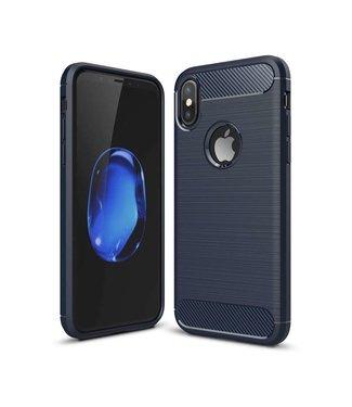 Just in Case Just in Case Rugged TPU Apple iPhone X / Xs Case (Blue)