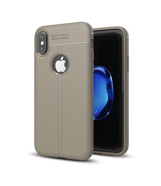 Just in Case Just in Case Soft Design TPU Apple iPhone X Case (Slate Grey)