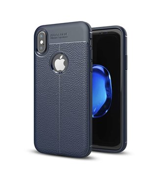 Just in Case Just in Case Soft Design TPU Apple iPhone X Case (Royal Blue)