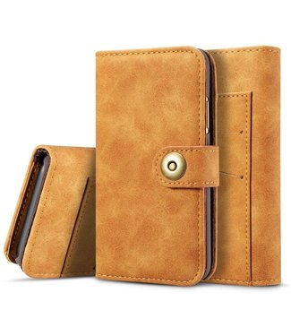 Just in Case Just in Case Apple iPhone X / Xs Vintage Wallet Case (Light Brown)