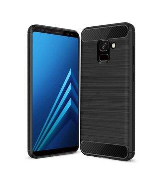 Just in Case Just in Case Rugged TPU Samsung Galaxy A8 Plus 2018 Case (Black)