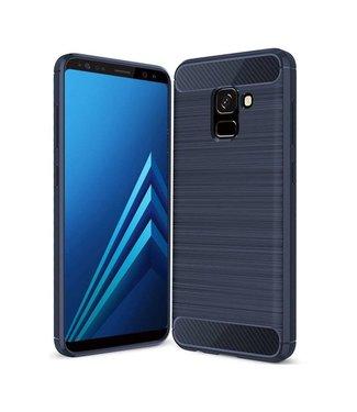 Just in Case Just in Case Rugged TPU Samsung Galaxy A8 Plus 2018 Case (Blue)