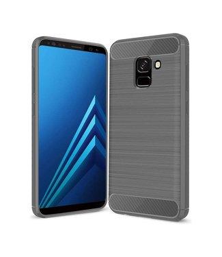 Just in Case Just in Case Rugged TPU Samsung Galaxy A8 Plus 2018 Case (Grey)