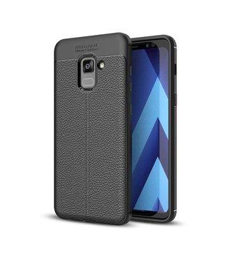 Just in Case Just in Case Soft Design TPU Samsung Galaxy A8 Plus 2018 (Black)