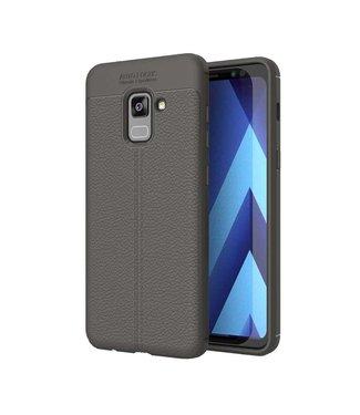 Just in Case Just in Case Soft Design TPU Samsung Galaxy A8 Plus 2018 (Grey)