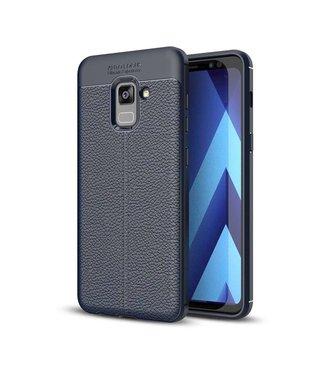 Just in Case Just in Case Soft Design TPU Samsung Galaxy A8 Plus 2018 (Blue)
