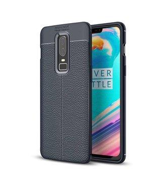 Just in Case Just in Case Soft Design TPU OnePlus 6 Case (Blue)