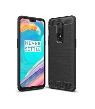 Just in Case Just in Case Rugged TPU OnePlus 6 Case (Black)