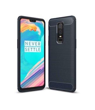Just in Case Just in Case Rugged TPU OnePlus 6 Case (Blue)