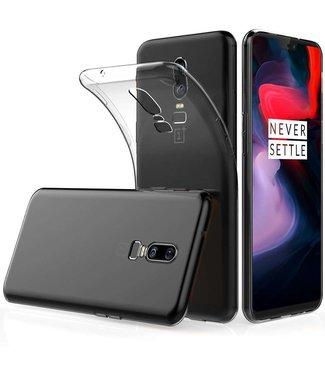 Just in Case Just in Case OnePlus 6 Soft TPU case (Clear)
