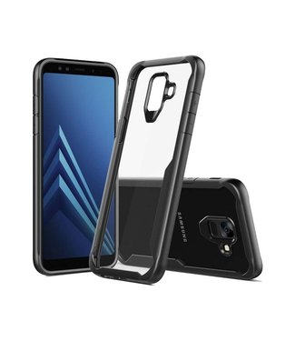 Just in Case Samsung Galaxy A6 (2018) Premium Clear case - Black