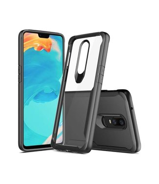 Just in Case OnePlus 6 Premium Clear case - Black