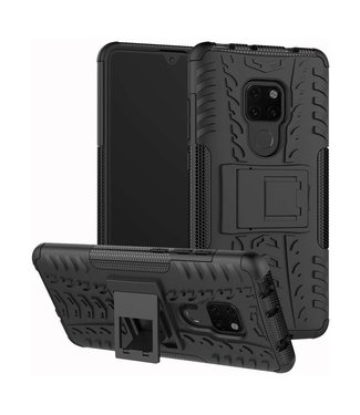 Just in Case Just in Case Rugged Hybrid Huawei Mate 20 Case (Black)
