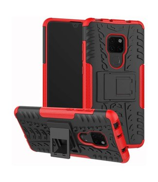 Just in Case Just in Case Rugged Hybrid Huawei Mate 20 Case (Red)