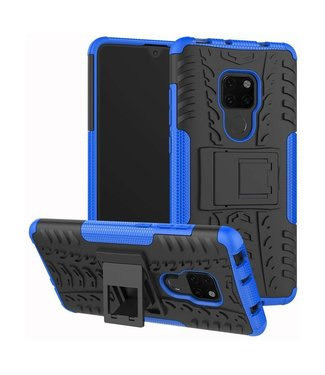 Just in Case Just in Case Rugged Hybrid Huawei Mate 20 Case (Blue)