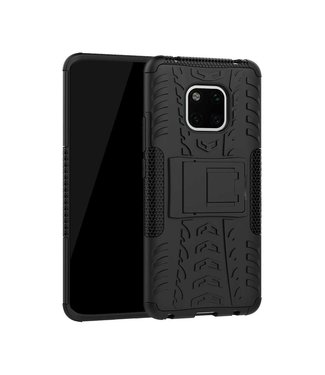 Just in Case Just in Case Rugged Hybrid Huawei Mate 20 Pro Case (Black)