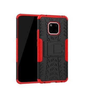 Just in Case Just in Case Rugged Hybrid Huawei Mate 20 Pro Case (Red)