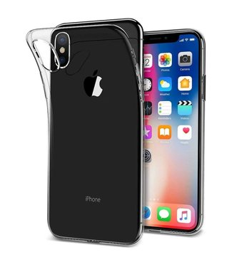 Just in Case Just in Case Apple iPhone Xs Max Soft TPU case (Clear)