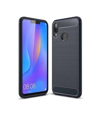 Just in Case Just in Case Rugged TPU Huawei P Smart Plus Case (Blue)
