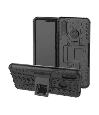 Just in Case Just in Case Rugged Hybrid Huawei P Smart Plus Case (Black)