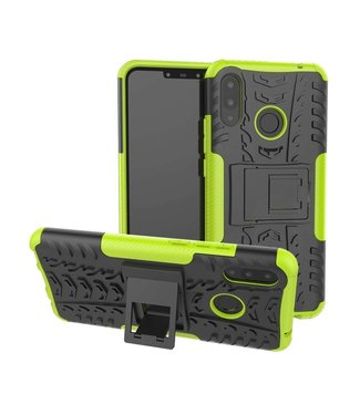 Just in Case Just in Case Rugged Hybrid Huawei P Smart Plus Case (Green)