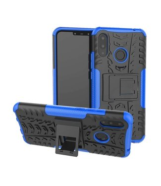 Just in Case Just in Case Rugged Hybrid Huawei P Smart Plus Case (Blue)