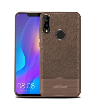 Just in Case Just in Case Rugged Armor Huawei P Smart Plus Case (Brown)
