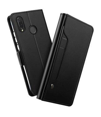 Just in Case Just in Case Huawei P Smart Plus Wallet Mirror Case - Black