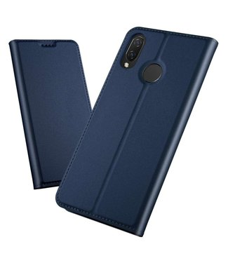Just in Case Just in Case Huawei P Smart Plus Wallet Case Slimline - Blue
